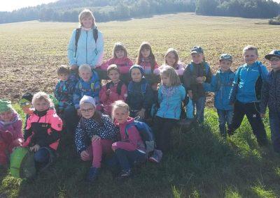 1. Wandertag der Klasse1, September 2015