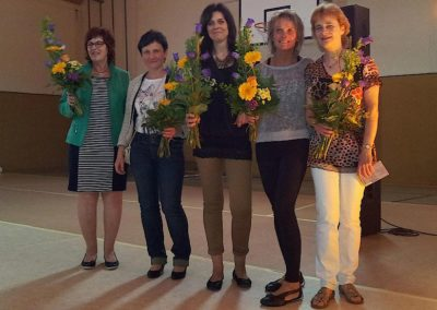 Abschlussfest 2014 und Verabschiedung der Schulleiterin M.Wolff