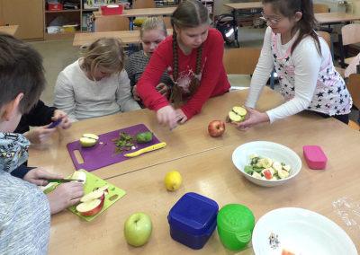 Projektwoche, Gesunde Ernährung im Rahmen des EU-Schulprogramms Sachsen