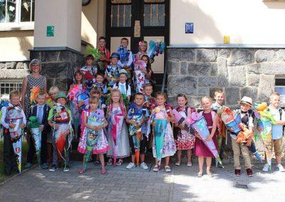 Schuleinführung, August 2017