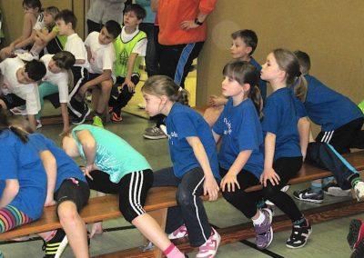 Sportwettkampf mit anderen Schulen