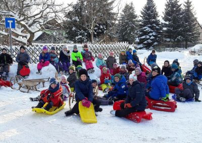 Wintersporttag, Klasse 2 und 3, Januar 2017